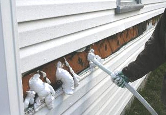 Home inspection uffi injected foam insulation uffi was injected in a similar fashion solutioingenieria Image collections