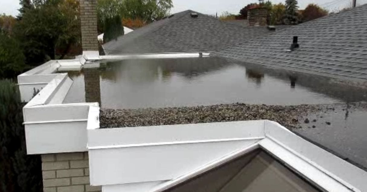 So You Have A Flat Roof Future Proof Property Inspections